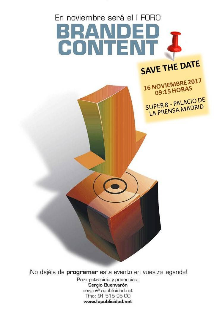 SAVE-THE-DATE- BRANDED-content - La Publicidad a60e74be339