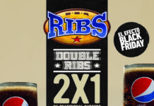 Ribs celebra el Black Friday