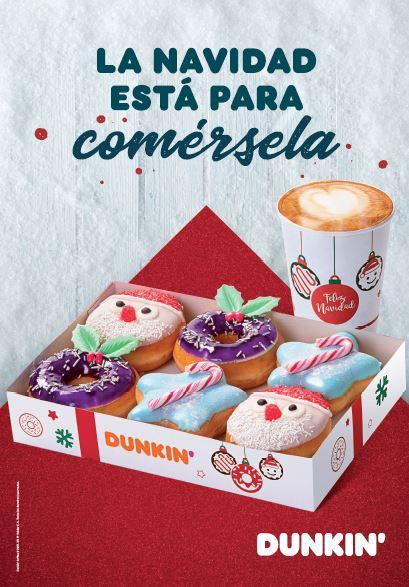 Dunkin Donuts Navidad