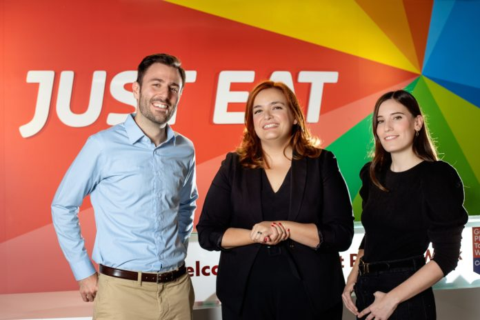 Triple nombramiento en Just Eat