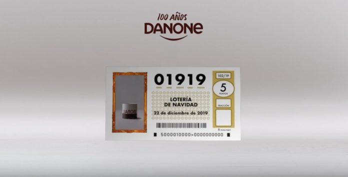 Danone sortea 175 décimos de lotería de Navidad
