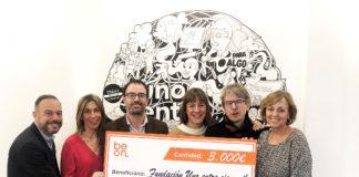 beon.worldwide dona 3.000 euros