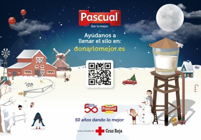 Pascual lanza su campaña solidaria por Navidad