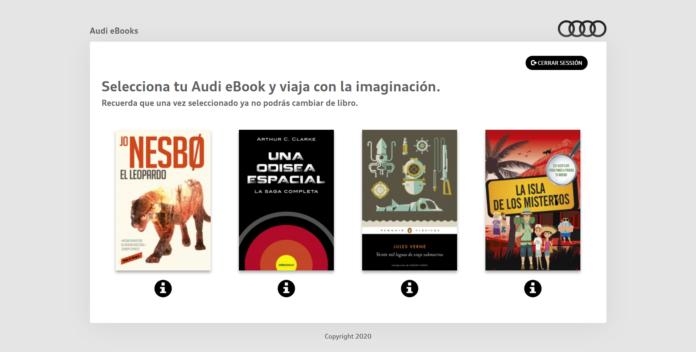 Las cuatro novelas seleccionadas para la campanŢa 'Viajemos con la imaginacioěn'